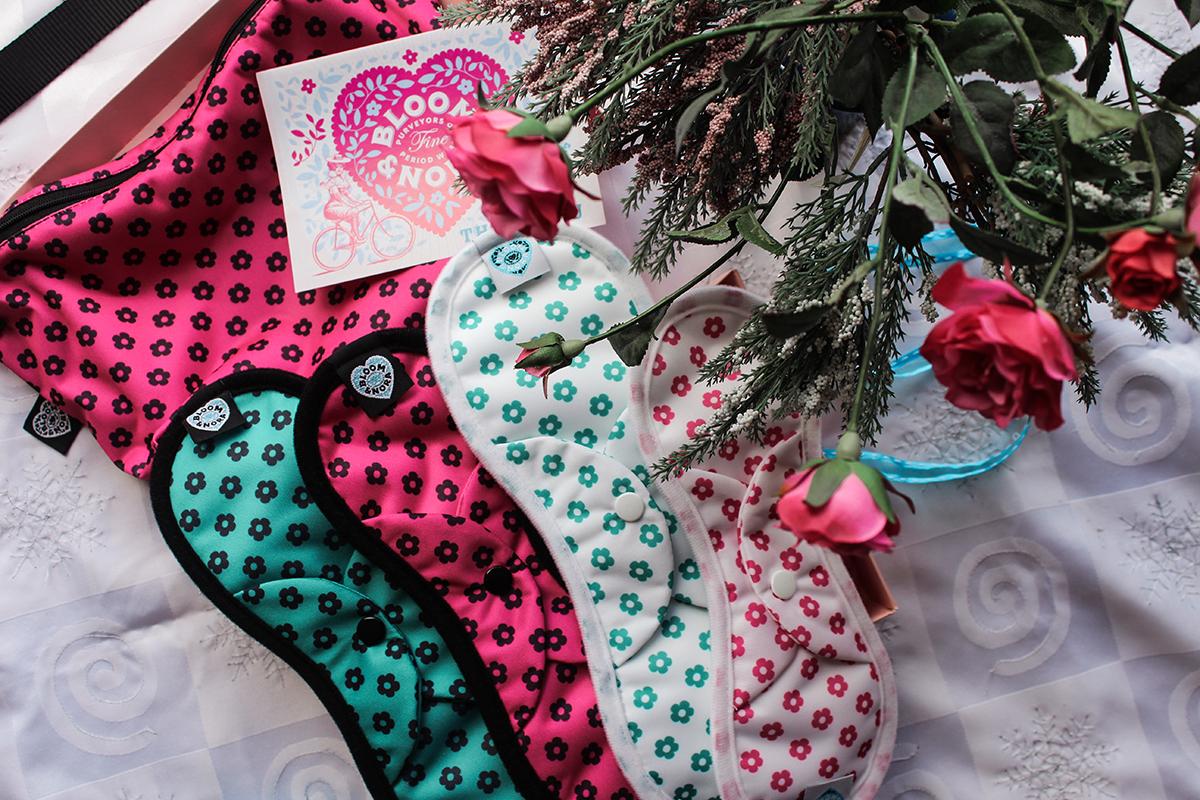 Nina reviews Bloom & Nora reusable pads