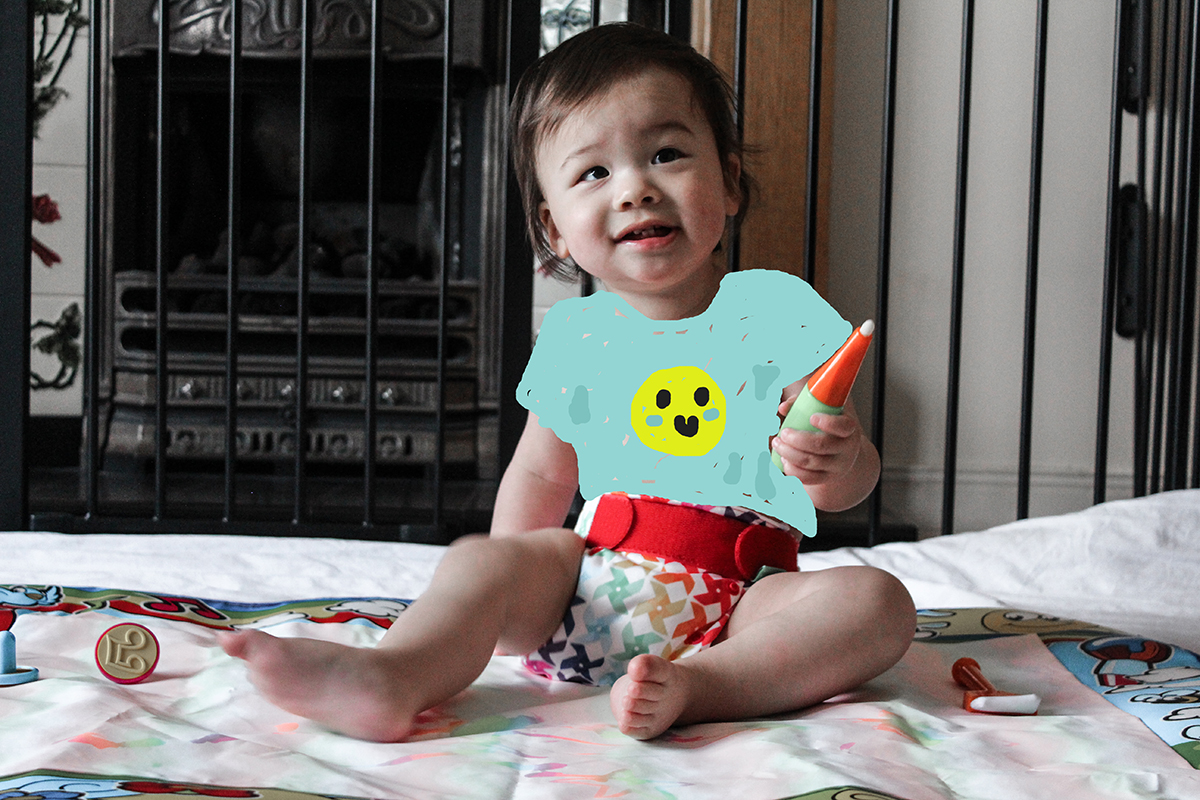 Nina reviews TotsBots cloth nappies