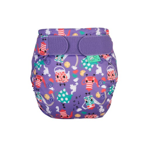 TotsBots EasyFit Reusable Nappy I'm a Little Teapot front