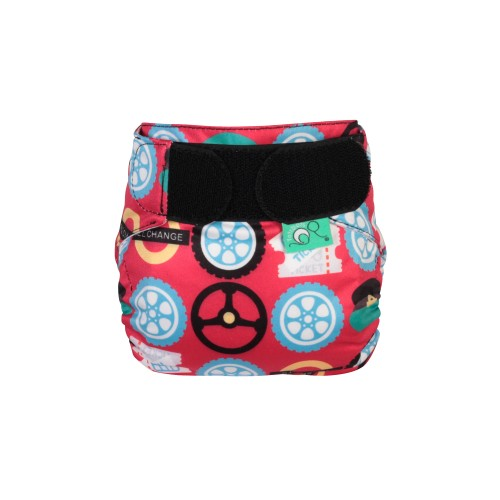 TotsBots TeenyFit Reussble Nappy Wheels on the Bus front