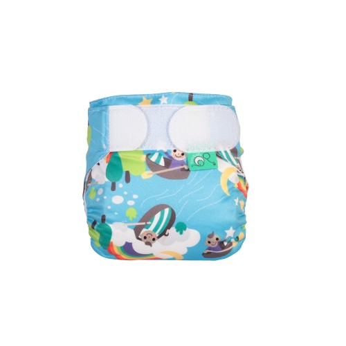 TotsBots TeenyFit Reusable Nappy Row Your Boat