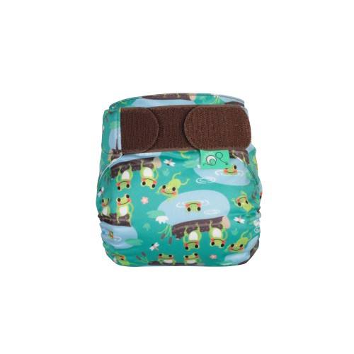 TotsBots TeenyFit Reusable Nappy Five Little Speckled Frogs