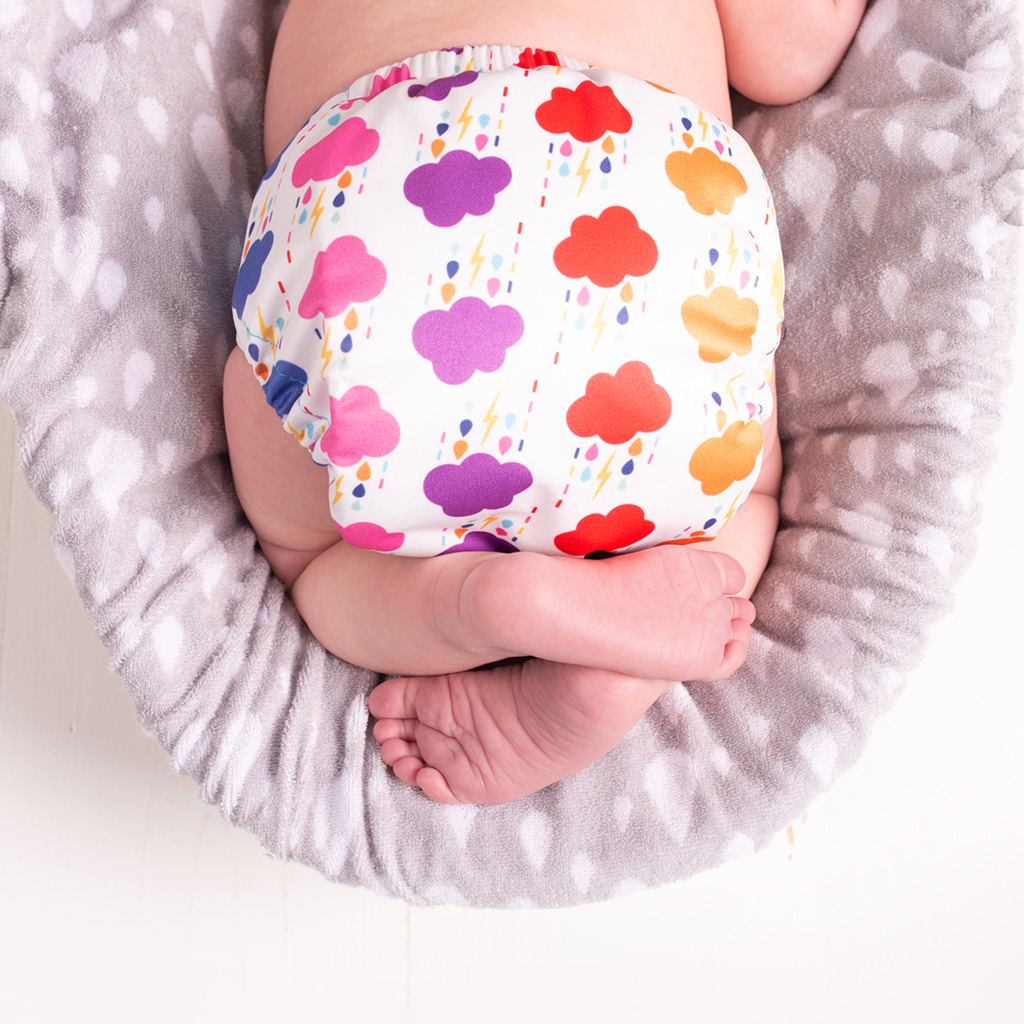 Reusable nappies in the scottish baby box