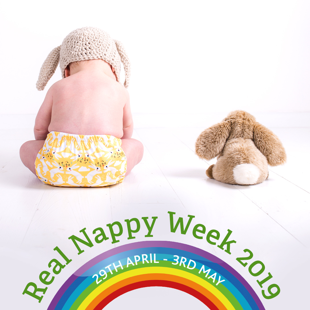 Real Nappy Week 2019 Reusable nappies - They don't have to cost the earth