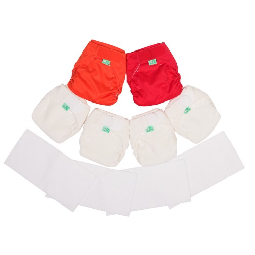 TotsBots Bamboozle night time nappy reusable nappy kit