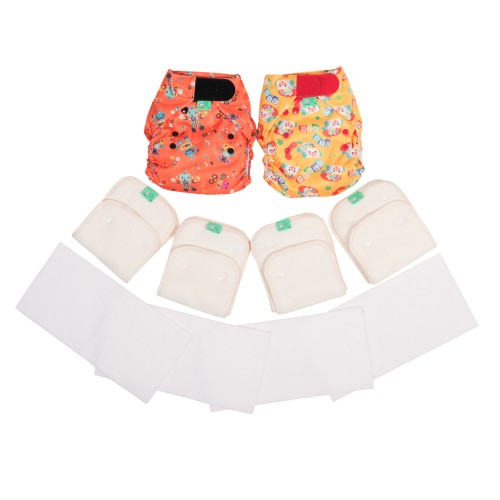 TotsBots Reusable Nappy PeeNut Mini Pack