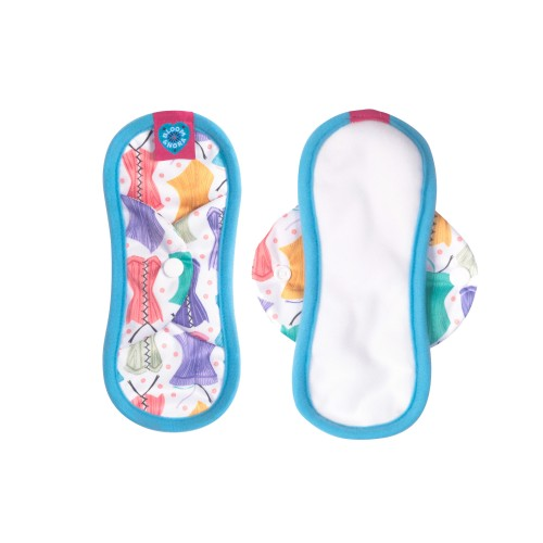 Bloom & Nora Reusable Sanitary Pads, Hourglass Mini Nora