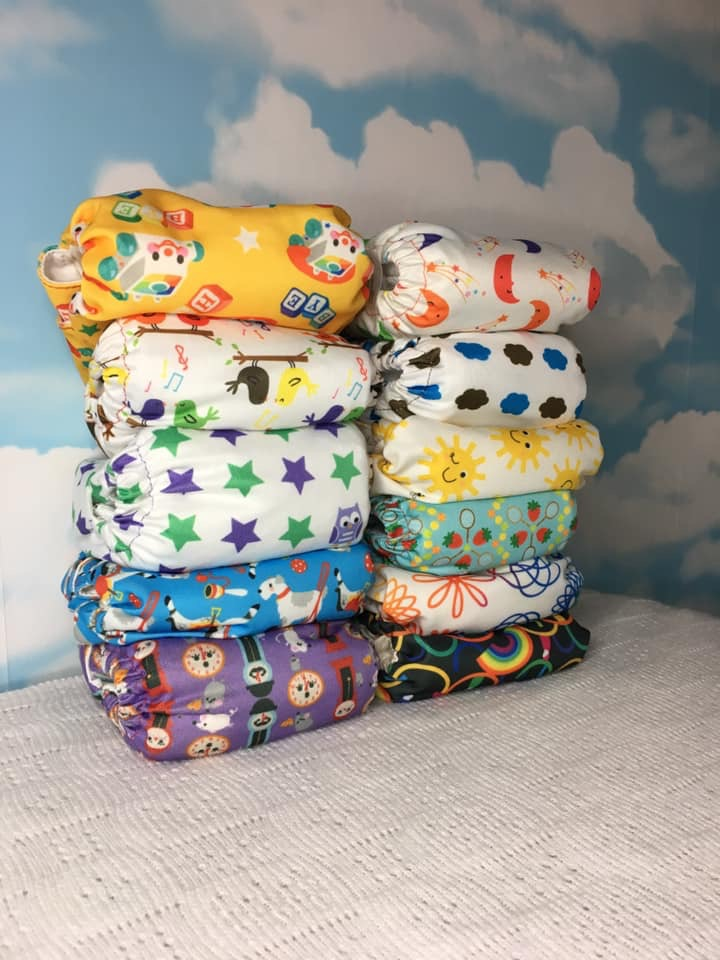 Coorie In with love TotsBots TeenyFit Tiny Baby Nappies review
