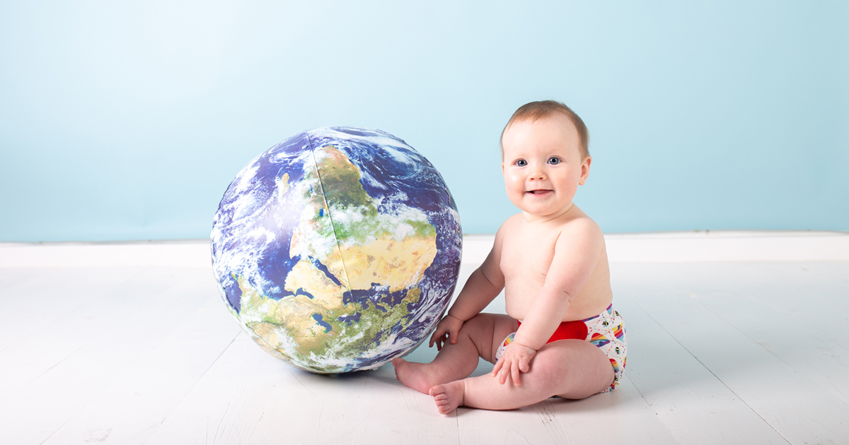 Switching to reusable nappies for World Environment Day