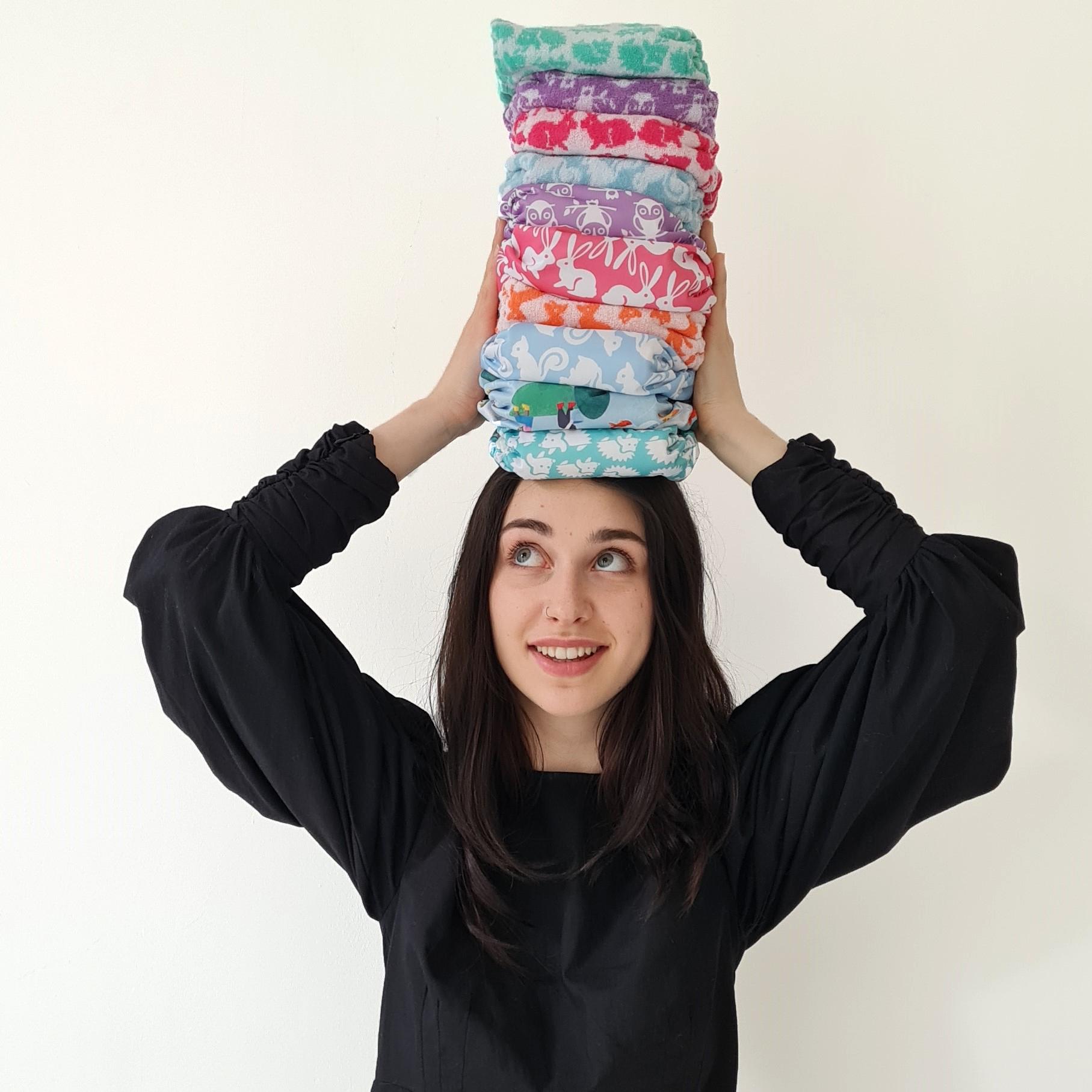 Maia Nappy stack