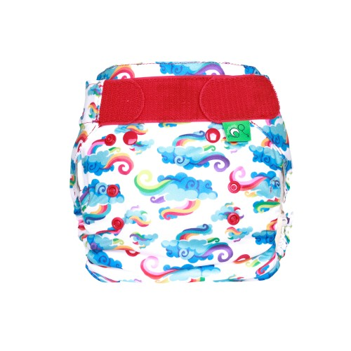 TotsBots Reusable Nappy waterproof wrap Breeze