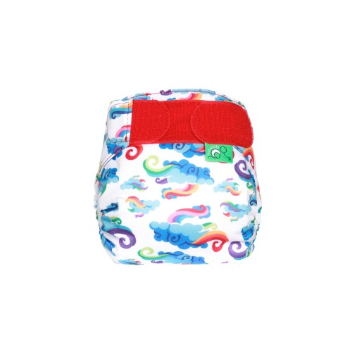 TotsBots Tiny baby TeenyFit reusable nappy Breeze