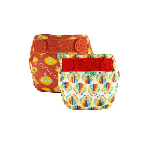 Swim Nappy Kit - Urchin/Yellow Sub - Size 1