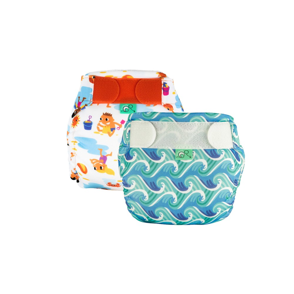 Swim Nappy Kit - Surfs Up/Dig It - Size 2