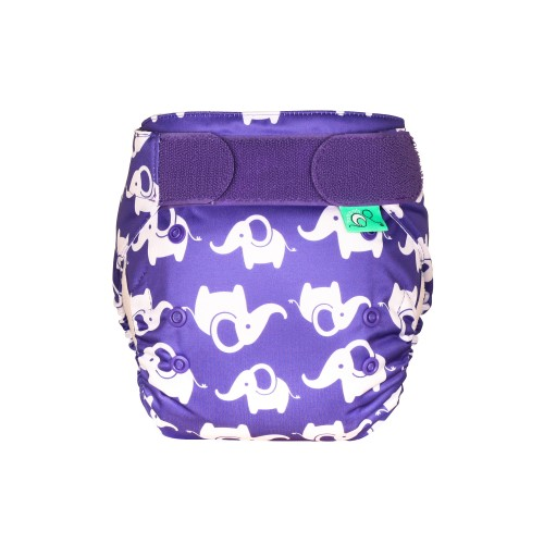 TotsBots EasyFit Reusable Nappy, Smelliphant front