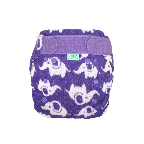 TotsBots Bamboozle Reusable Nappy Smelliphant front