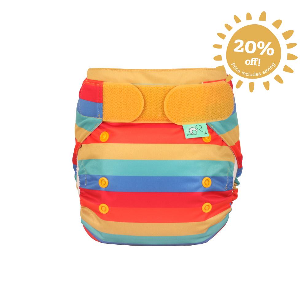 Nappy Easyfit STAR Rainbow Stripe