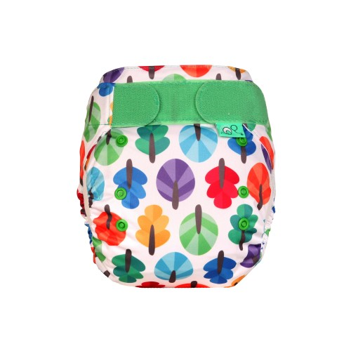 TotsBots Reusable Nappy Knotty front