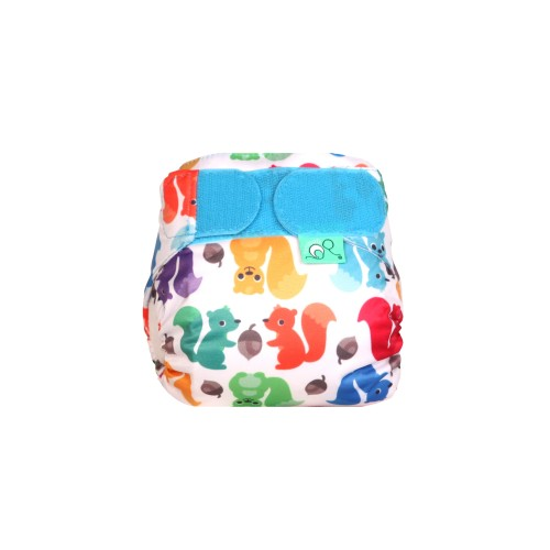 TotsBots TeenyFit Newborn Nappies Nutty