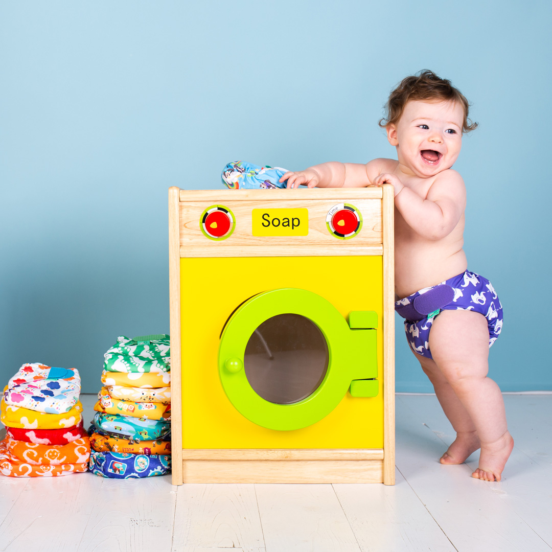 Tips for washing reusable nappies