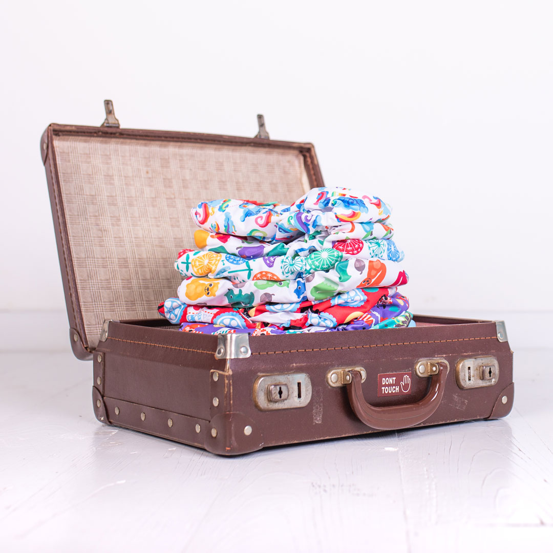 Travelling with cloth nappies