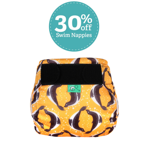 Save money on reusable swim nappies