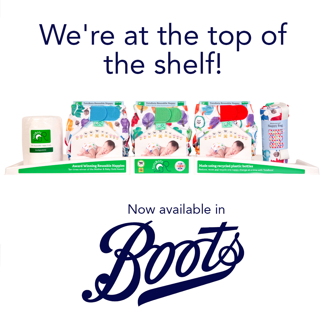 Boots cloth nappies in store