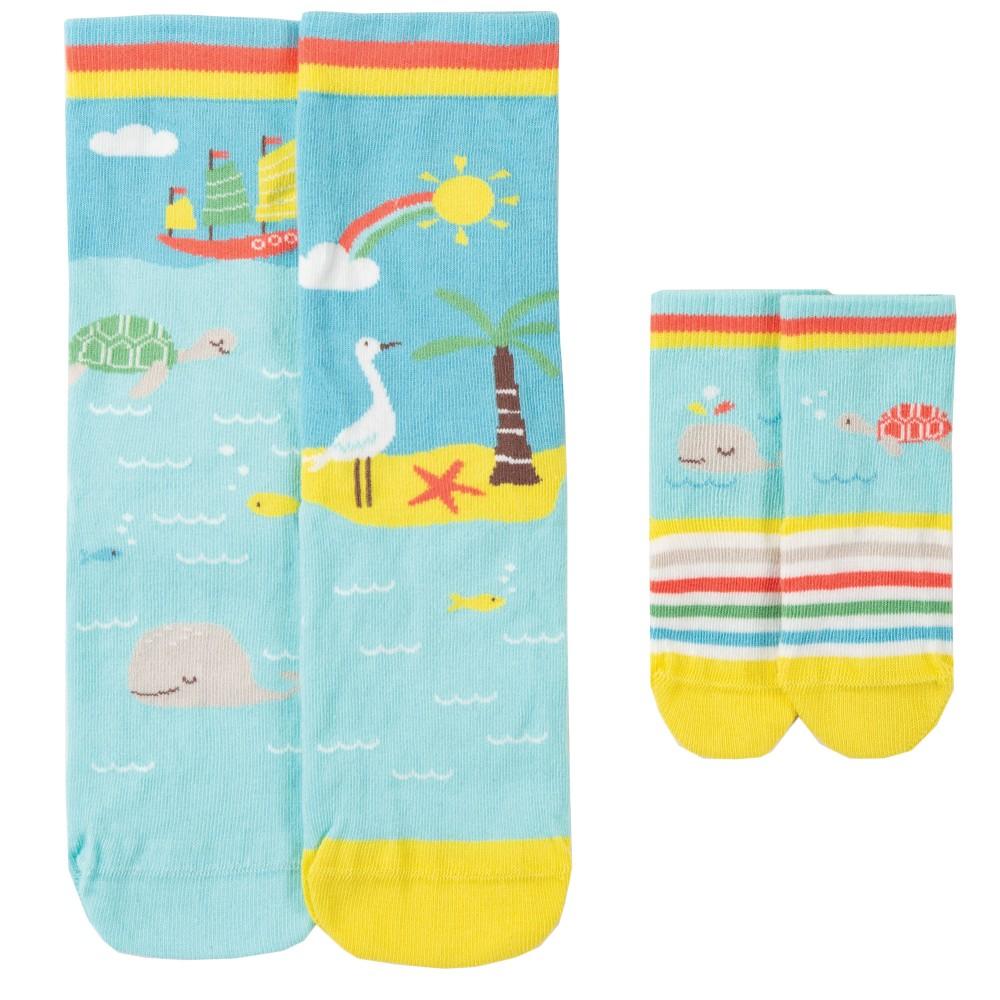 Little & Large Socks