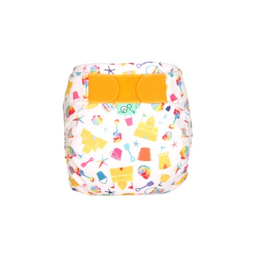 TotsBots Reusable Swim Nappy Funshine front