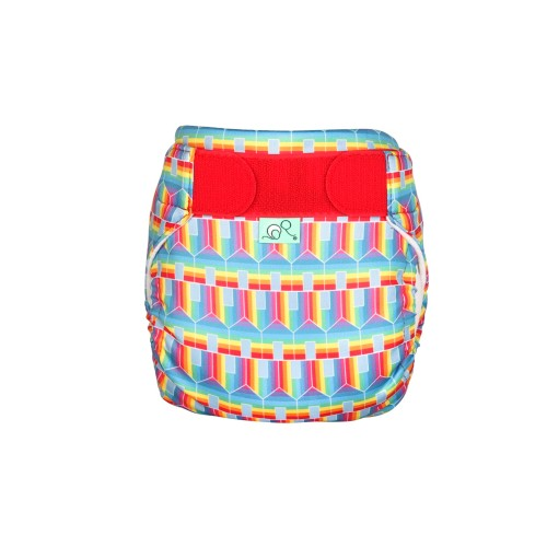 TotsBots reusable swim nappy 'Hit the Hut' front