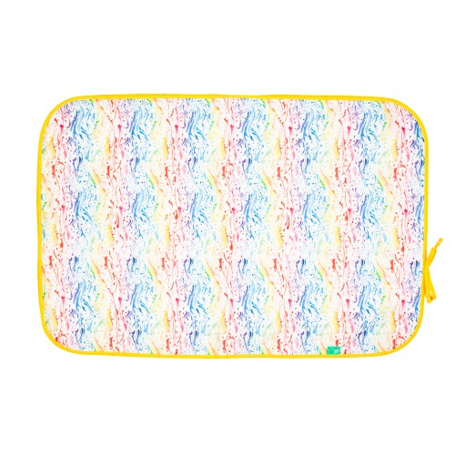 TotsBots Happy Mat portable changing mat Splash