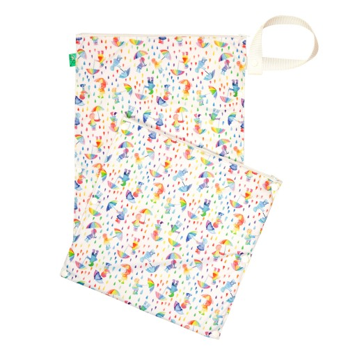 Reusable Nappy Waterproof Wet & Dry Bag Dilly Dally separates