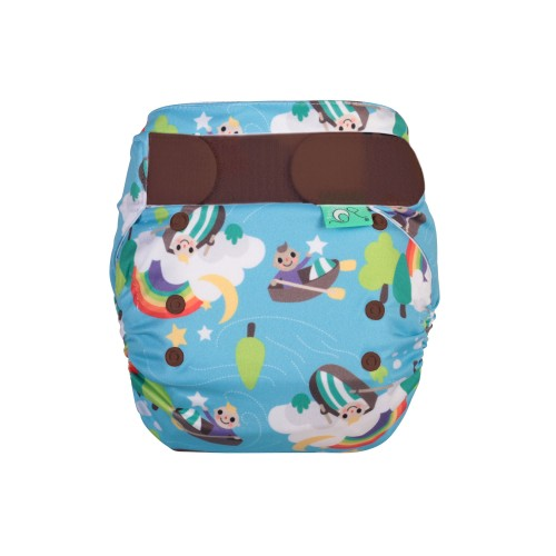 TotsBots EasyFit Star Reusable Nappy Row Your Boat
