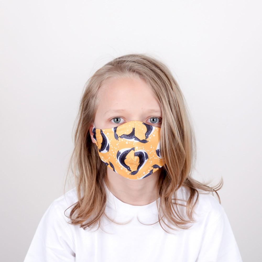 Kids Face Mask - Dive (single)
