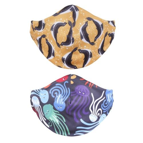 Adult reusable face mask 2 pack