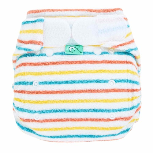 Reusable nappy in stripe pattern - Bamboozle Stretch from TotsBots
