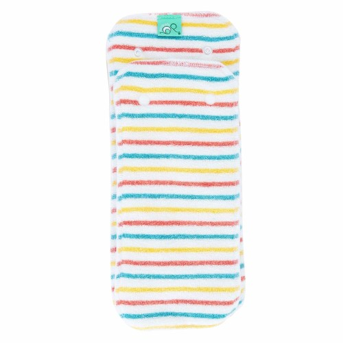 Reusable nappy liner - Bamboozle day to night nappy pad in stripe pattern
