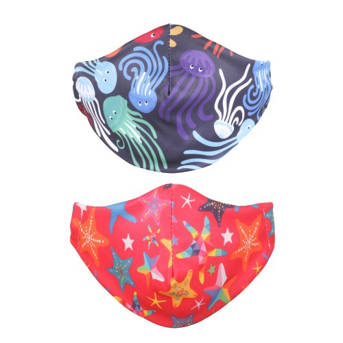 Reusable Face Mask, Adult Little Star & Float
