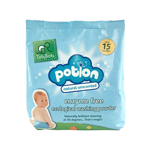 TotsBots reusable nappies washing power