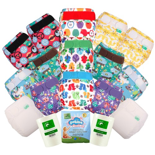 TotsBots EasyFit Reusable Nappies Kit