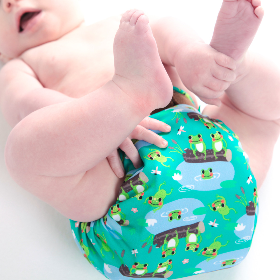 Plastic Free July – Reduce single use plastic waste with TotsBots reusable nappies
