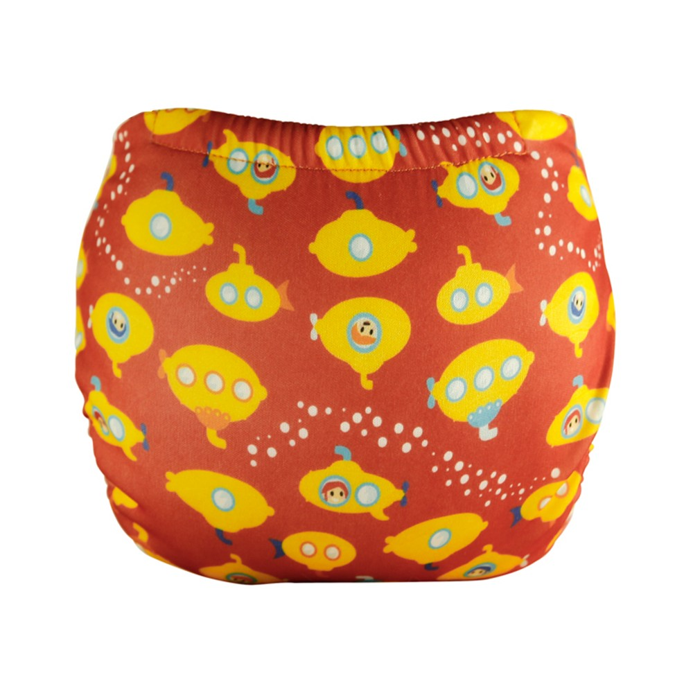 Swim Nappy Yellow Submarine