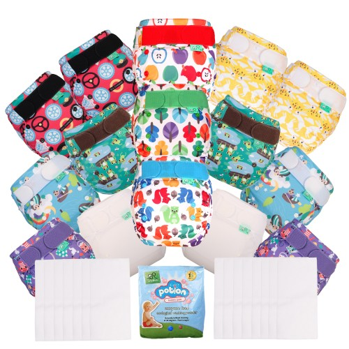 TotsBots Reusable Nappies EasyFit Kit