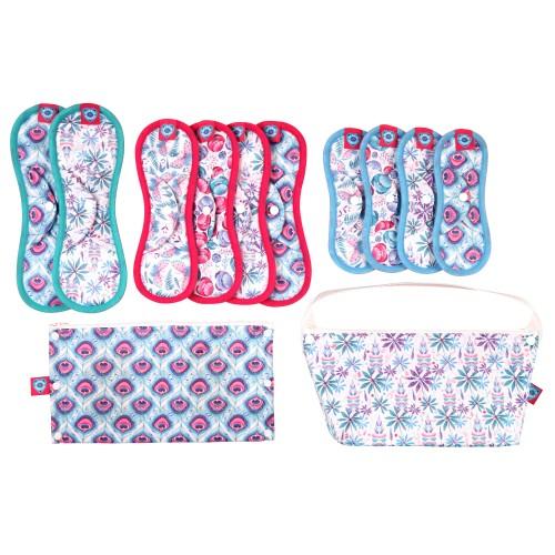 Bloom & Nora Reusable Sanitary Pads full kit