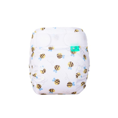 TotsBots Frugi Print EasyFit Buzzy Bee front