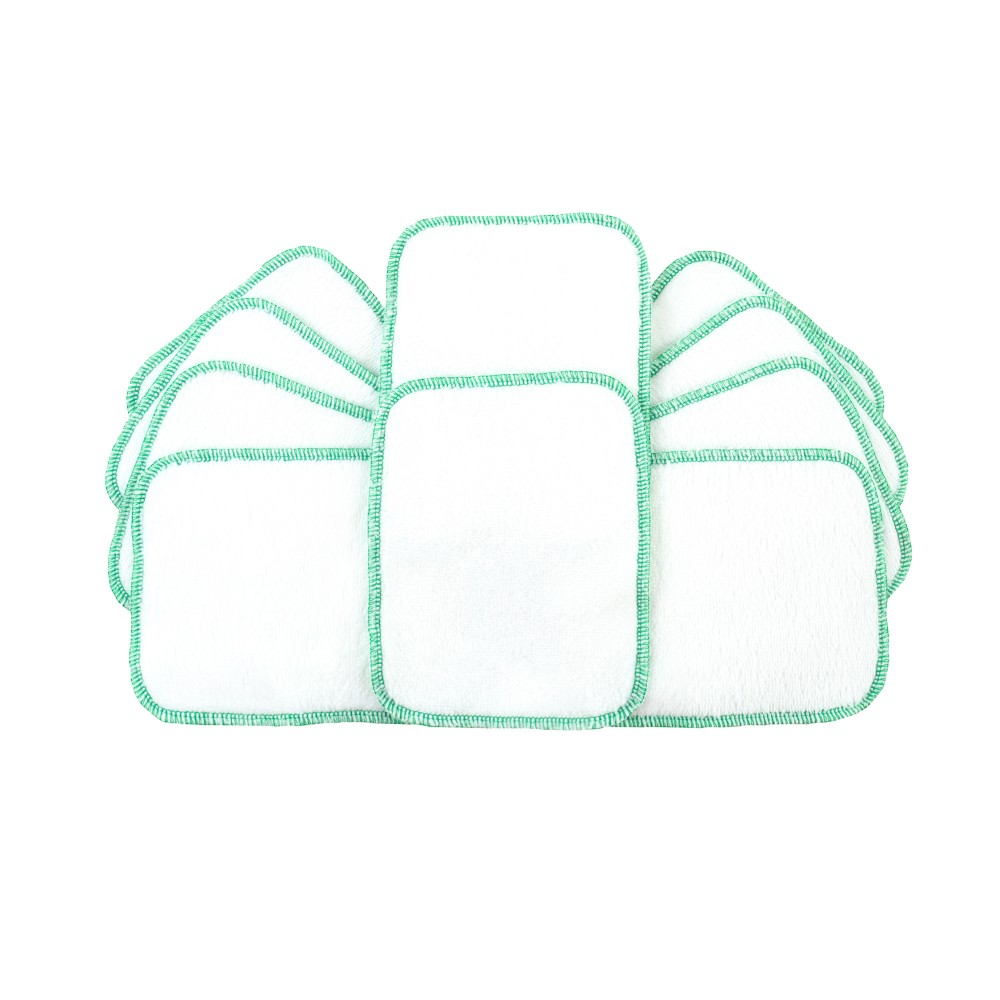 Reusable Wipes White