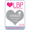 Loved By Parents Winner - Best  Nappy Design - Silver 2014