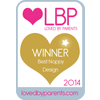 Loved By Parents Winner - Best  Nappy Design - Gold 2014