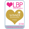 Loved By Parents Winner - Best  Reusable Design - Gold 2014