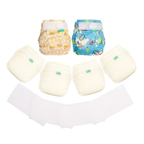 TotsBots reusable Night Nappies kit